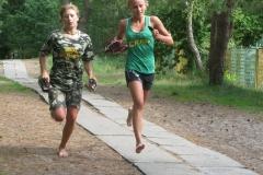 27. Agnieszka Trenda (IIGMS) i Marta Miłkowska (III GMS) _ zdobywczynie III miejsca w kat. open-dz.