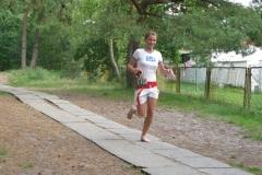 Anna Bartman III gimnazjum - II miejsce w biegu w kat open-dz
