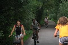Trening na rowerach