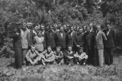 1955 Klasa maturalna mechaników z wychowawcą