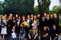 1999 Zakończenie roku szkolnego IV tech T